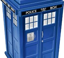 TARDIS  by Grace-Moxley