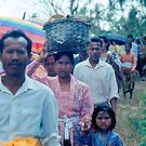 Balinese funeral, 1993 by Roberto Bettacchi