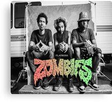 Flatbush Zombies Mobbin Trailer Canvas Print