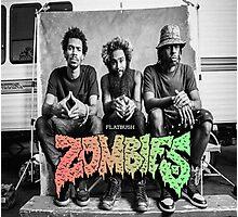 Flatbush Zombies Mobbin Trailer Photographic Print