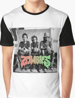 Flatbush Zombies Mobbin Trailer Graphic T-Shirt