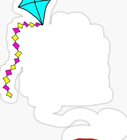 Kite!!!! Sticker