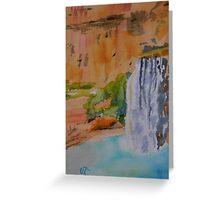 Havasu Falls Arizona Greeting Card
