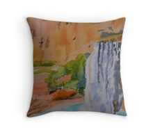 Havasu Falls Arizona Throw Pillow