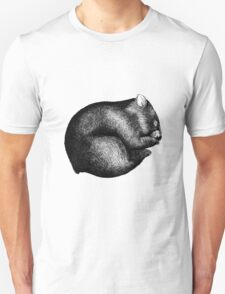 Wombat sleeping Unisex T-Shirt