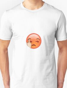 Angry Middle Finger Emoji T-Shirt