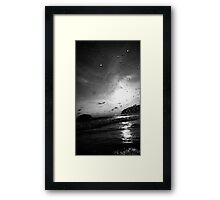 Day Stars (Water droplets) Framed Print