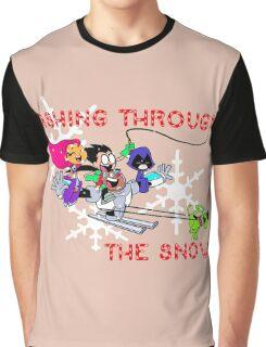 Teen Titans Christmas Graphic T-Shirt