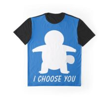 I Choose You: Squirtle Graphic T-Shirt