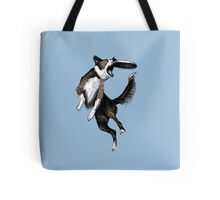 Dog & Frisbee Tote Bag