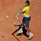 Forehand stroke (Rafael Nadal) by Roberto Bettacchi