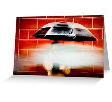 Umbrella Greeting Card