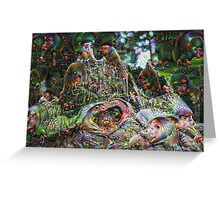 Grove of the Patriarchs Machine Dreams Greeting Card
