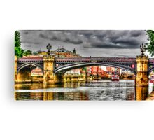 River Ouse York Canvas Print