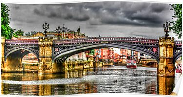 River Ouse York by Trevor Kersley