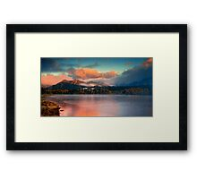 The Skies Of Autumn Framed Print