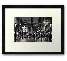 Earl Street North Framed Print