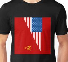 Man From Uncle Flag Mashup Unisex T-Shirt