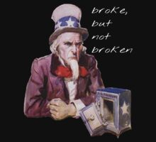 Broke, but not Broken by taiche