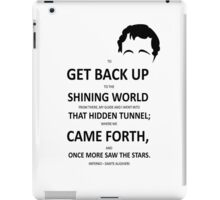 Dante's Inferno Came Forth and Once More Saw the Stars iPad Case/Skin