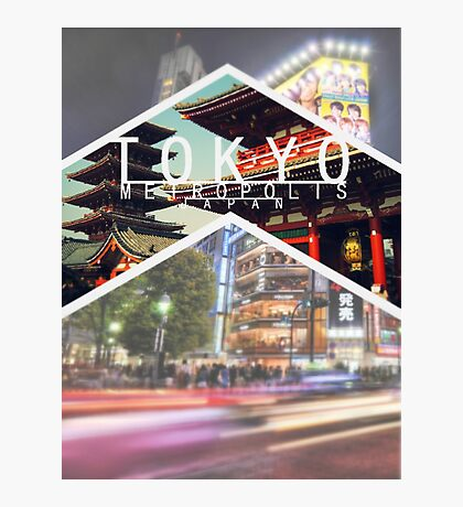 Tokyo Metropolis City Photographic Print