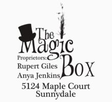 Magic Box Advertisement by UtherPendragon