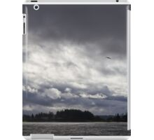 Clouds and Sun Over Puget Sound iPad Case/Skin