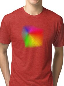 vector field colour wheel Tri-blend T-Shirt