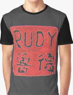 RUDY STAMP Graphic T-Shirt