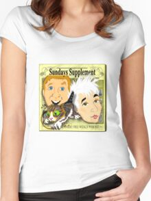 Sundays Supplement Official Tee Women's Fitted Scoop T-Shirt