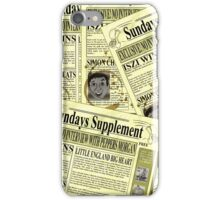 Sundays Supplement Official Tee iPhone Case/Skin