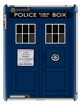 TARDIS iPad by vanessaisha