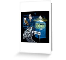 Hedwig Says Who! Greeting Card