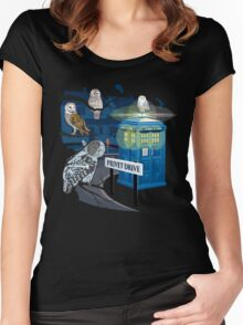 Hedwig Says Who! Women's Fitted Scoop T-Shirt
