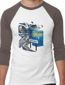 Hedwig Says Who! Men's Baseball ¾ T-Shirt