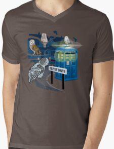 Hedwig Says Who! Mens V-Neck T-Shirt