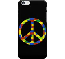 Peace, Bricks and Happiness iPhone Case/Skin