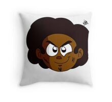 Witthebitgod Bust Throw Pillow