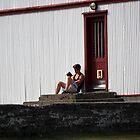 Lonely Reader by stevenajbeijer