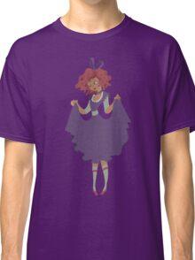 Cute Girl - Purple Dress Classic T-Shirt