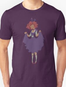 Cute Girl - Purple Dress T-Shirt