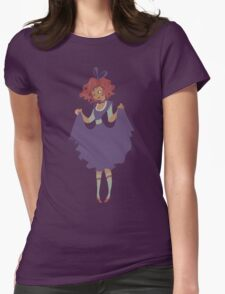 Cute Girl - Purple Dress Womens Fitted T-Shirt