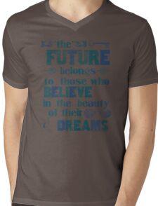 Future - dark blue Mens V-Neck T-Shirt