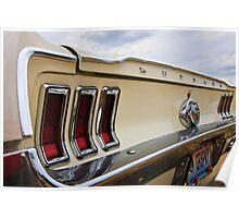'67 Mustang Poster