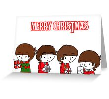 Beatle Christmas Greeting Card