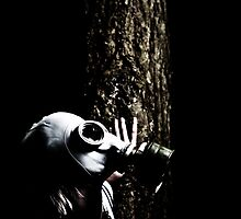 Gas Mask Stalk by 1910Photography