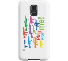 Play with me! - multicolor Samsung Galaxy Case/Skin