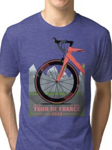 Tour De France Bike Tri-blend T-Shirt