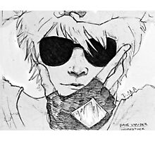 Dave Strider // Homestuck Photographic Print