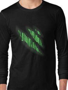 i bleed the matrix Long Sleeve T-Shirt